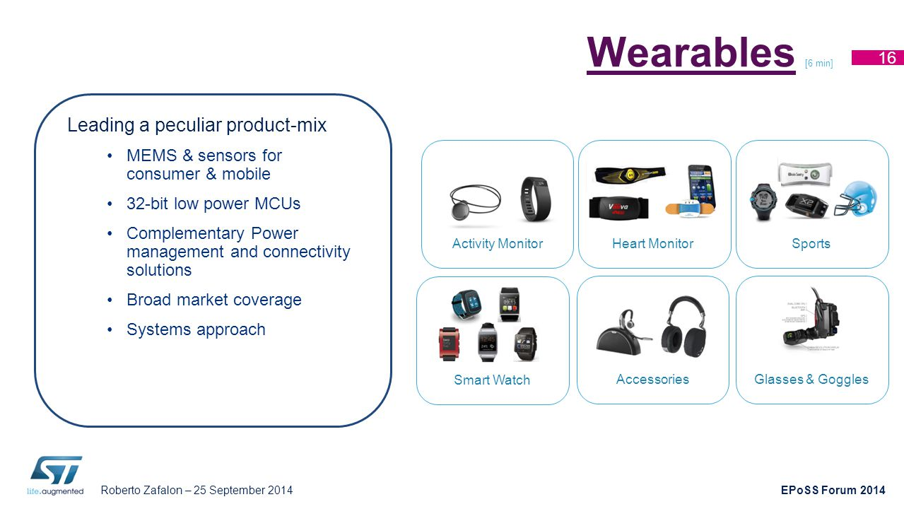 Wearables [6 min] Leading a peculiar product-mix